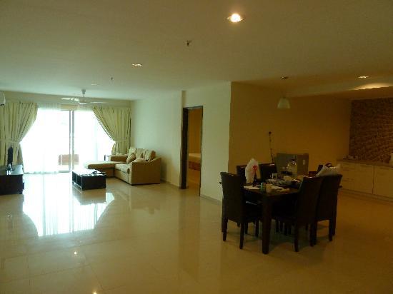 Marina Island Pangkor Resort & Hotel: living