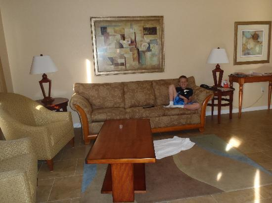 Vacation Village at Parkway : Living Room