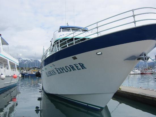 Seward, AK: The boat
