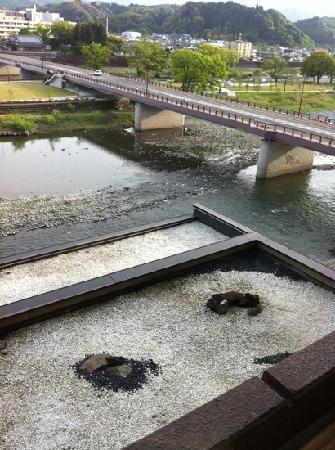 Ayu no Sato: お部屋からの眺め2