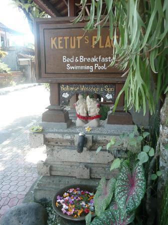 Ketut's Place: l'entrée