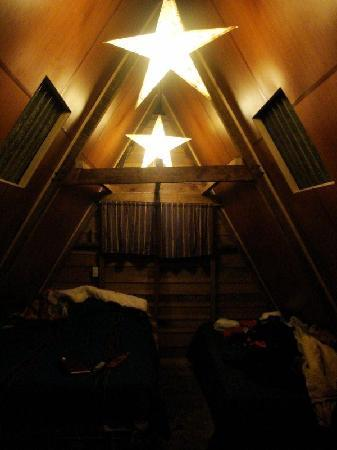 Earth Lodge : night in canopy cabin