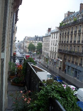A Room in Paris: view from the room