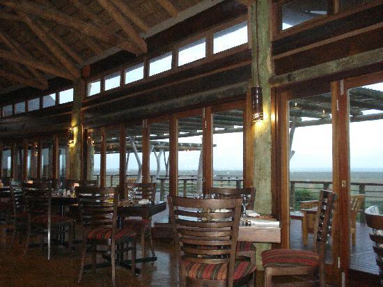 Garden Route Game Lodge: Restaurant