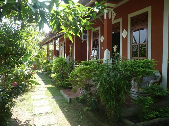 Mumbul Guesthouse : l'allée centrale