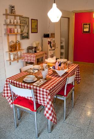 B&B Casa Nuvola: Cucina