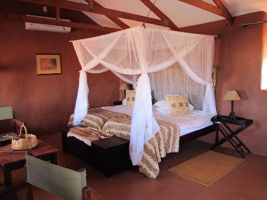 Bagatelle Kalahari Game Ranch: Schlafbereich