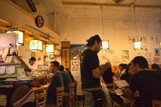 small space - Picture of Tomoe Sushi, New York City - TripAdvisor