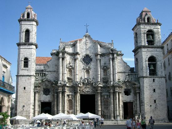 Cuba: La cattedrale de La Avana