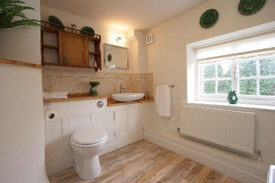 Holt, UK: Bathroom in Blue Room