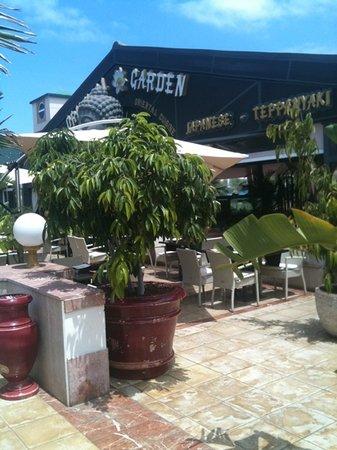 Oriental Garden Restaurante: entrada