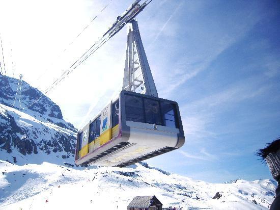 L'Alpe-d'Huez, Francia: la benne de Vaujany