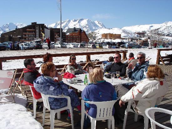 L'Alpe-d'Huez, Francia: sur la terrasse