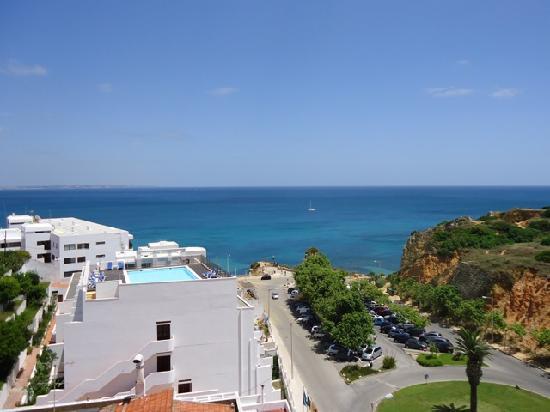 Villa Doris Suites: view from our balcony