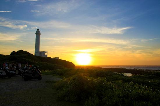 Taitung County, Tajwan: The amazing sunset