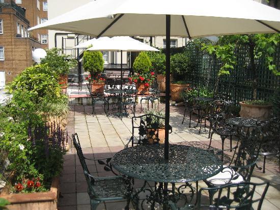 Searcy's Roof Garden Rooms : Roof Top Terrace