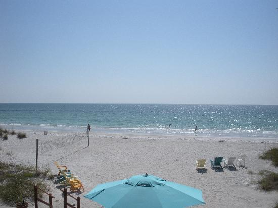 Gulf Towers Resort Motel: the beach
