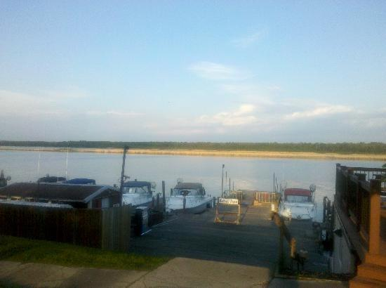 Baudette, MN: View from resort office