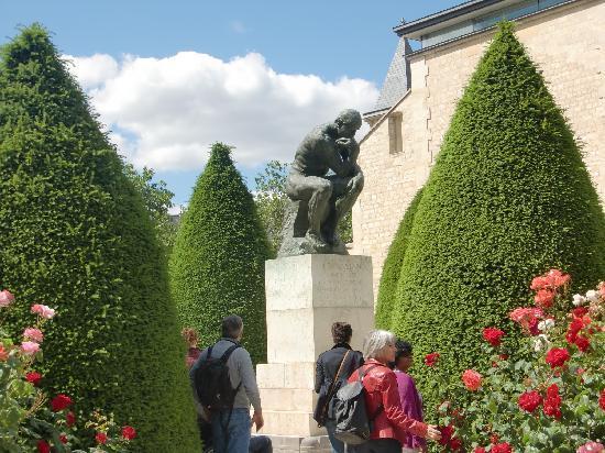 Musée Rodin : バラと考える人