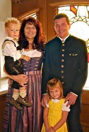 Radfeld, Austria: Hotel-Familienbild