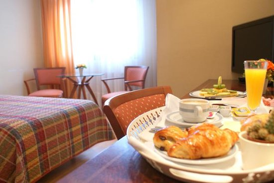 Eibar, Spain: servicio de habitaciones