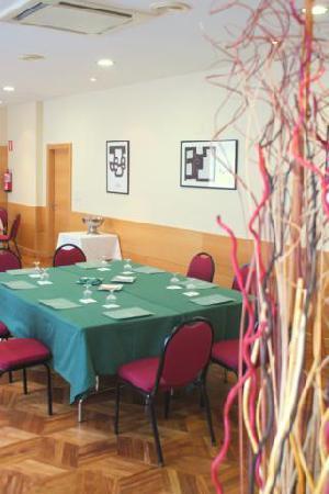 Hotel Unzaga Plaza : sala de reuniones