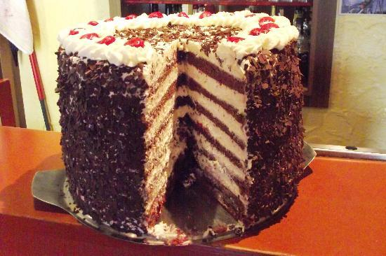 Sasbachwalden, Germany: 20cm Black Forest Cake