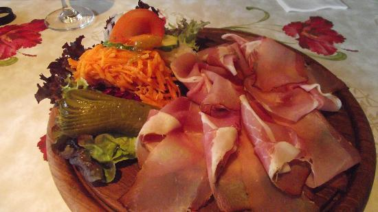 Sasbachwalden, Germania: Vesper - Meat Platter