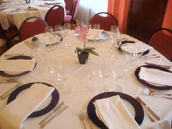 Hotel Unzaga Plaza : comidas especiales