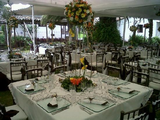 Hacienda- Hosteria Chorlavi: Catering for Wedding & Social Events, Servicio de Banquetes para Bodas y Eventos Sociales