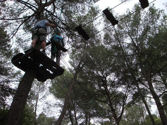 "Beziers Adventure : Some of the ""easier"" obstacles"