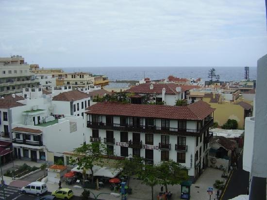 Hotel Trianflor : blick vom balkon