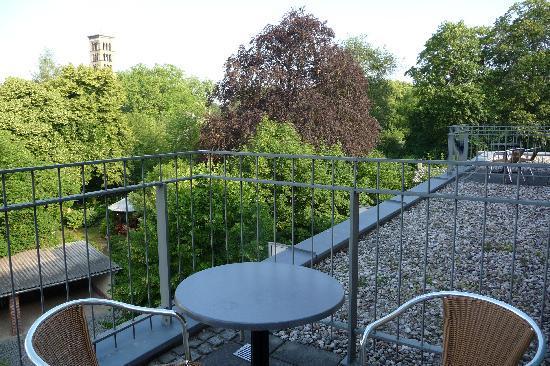 Steigenberger Hotel Sanssouci : Our balcony & view