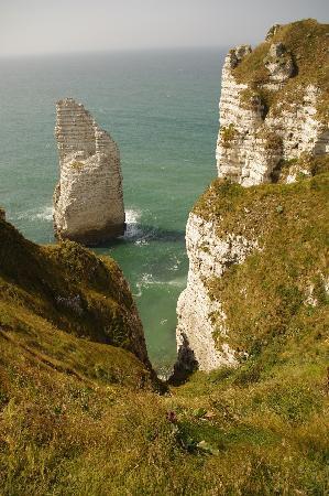Etretat, فرنسا: Panorama d'Etretat