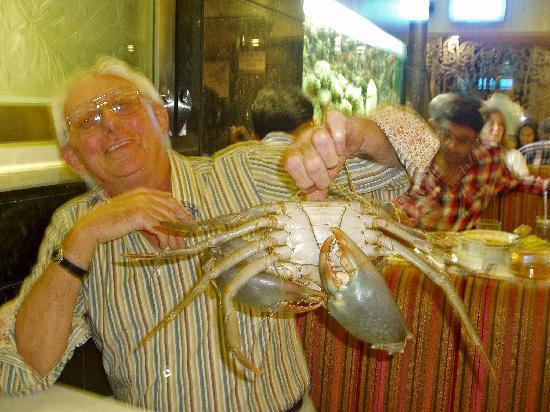 Trishna : our crab!