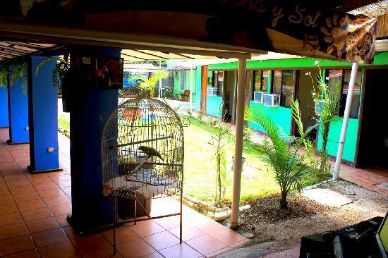 Hotel Arena y Sol: Arena y Sol central patio & pool