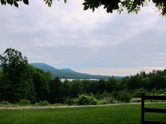 Ashokan Dreams B&B: view from the reservoir suite
