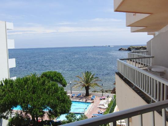 Apartmentos Playa Sol II: vista dal terrazzo abitabile