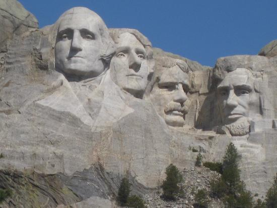 Mount Rushmore National Memorial: Viewing Terrace