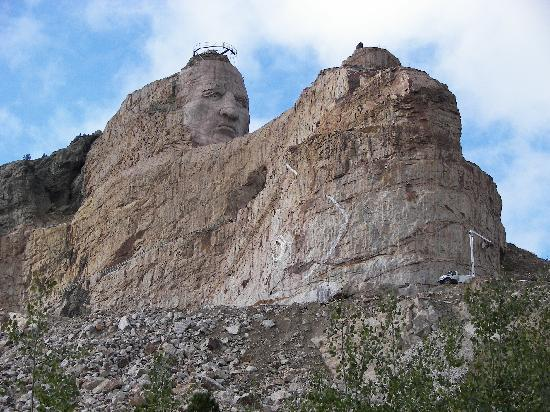 Crazy Horse Memorial: crazy horse monument