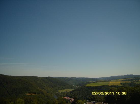 Wyndham Garden Lahnstein Koblenz: Another view from hotel balcony