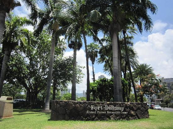 Waikiki Parc Hotel: フォートデルッシーパーク