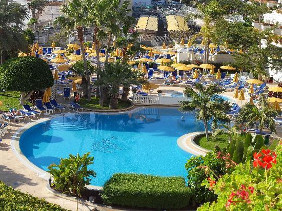 Spring Arona Gran Hotel: prachtig zwembad (goed verwarmd)