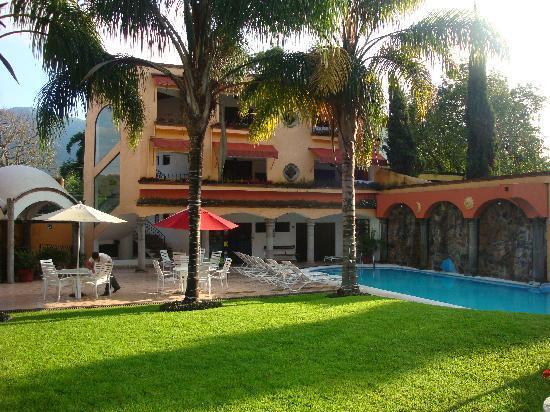 Hotel Quinta Roma: Jardin
