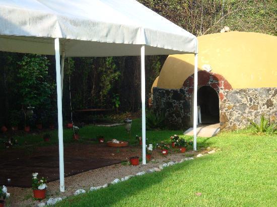 Hotel Quinta Roma: Temazcal