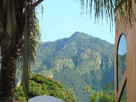 Hotel Quinta Roma : Vista al cerro