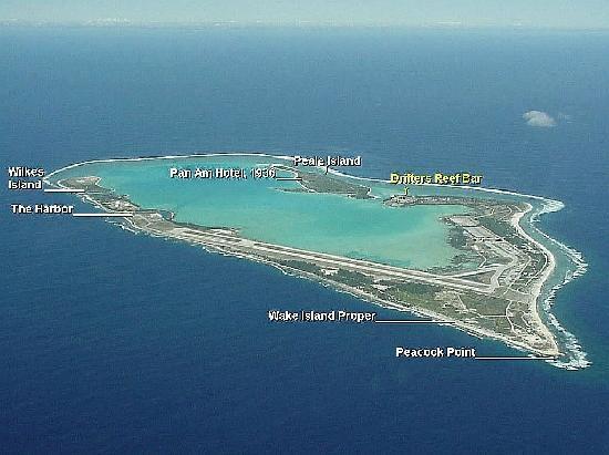 Ilha Wake: WAKE ISLAND.