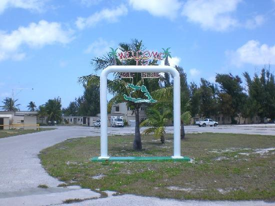 Downtown Wake Island.