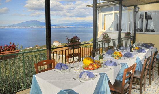 Vista Terrazza Vesuvio Picture Of Ristorante Il Borgo