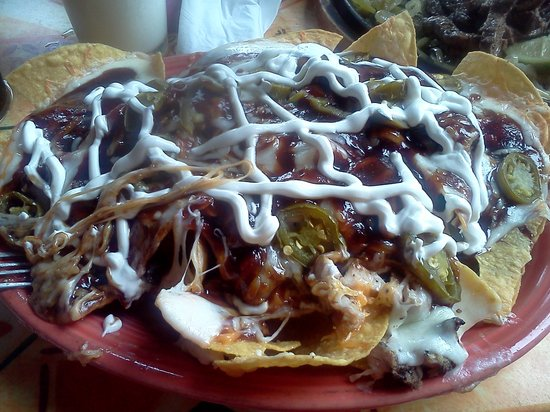 San Miguel's Mexican Cafe : Chiplotle Chicken Nachos